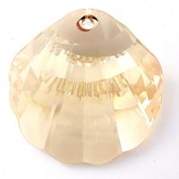 Golden Shadow 6723 Swarovski 28mm Shell Pendant